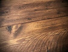 Reclaimed Scaffold Board Planks Sanded & Waxed. Choose Length & Wax Finish.