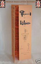 Primus Stove Regulating Brûleur instructions et liste de pièces