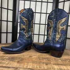 FRYE Daisy Duke studded western style boots Women's Size 6M