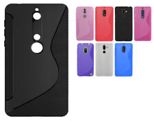 For Microsoft / Nokia Models N S Line Silicone Gel Skin Case - AntiSlip Grip