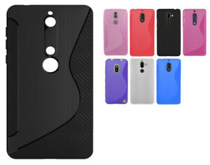 For Microsoft / Nokia Models N S Line Silicone Gel Skin Case - AntiSlip Grip