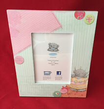 ME TO YOU BEAR TATTY TEDDY HAPPY BIRTHDAY WOODEN PHOTO PICTURE FRAME *NEW(OTHER)