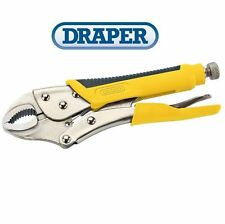 Draper 225mm Adjustable Self Grip Pliers Mole Grips Clamping Wrench 24353