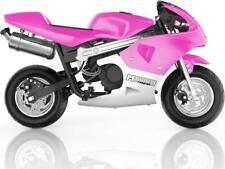 MotoTec Phantom Gas Pocket Bike 49cc 2-Stroke - PINK- NO CA SALES