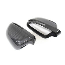 Carbon Fiber Mirror Cover For Audi A4 B8 S5 A6 2009 - 2012 A3 A5 with Assist