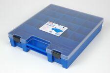 Fischer Plastic Products Ezi-Pak Spare Parts Blue Carry Case / Clear Lid 1H-150B