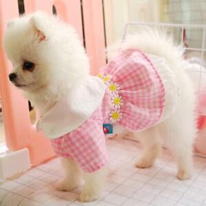 Small Pet Clothes Princess Girl Dog Dress Apparel Skirt For Chihuahua Costume