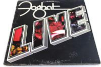 Foghat Live BRK 6971 Road Fever Vintage Vinyl Record LP 1977