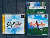SaGa Frontier 1 + 2 Playstation 1 PS1 PSX Sony Japan