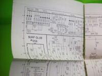 Surf Club Bingo Pinball Machine Schematic Wiring Diagram Bally For 1954 Game