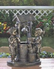 Bucket Water Fountain Children Outdoor Garden Yard Decor - New