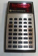 Texas Instruments TI-30 Scientific Calculator, Vintage Nice condition TESTED