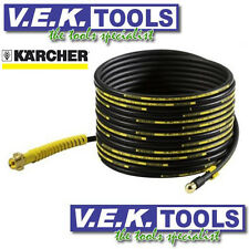 KARCHER WATER PRESSURE WASHER CLEANER-15m PIPE DRAIN EEL CLEANING KIT ATTCHMENT