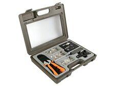 KIT RESEAU :  PINCE RJ45 RJ12 RJ11 + TESTEUR DE CABLE LAN + OUTILS + 125 FICHES