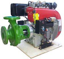 MOTOPOMPA DIESEL PROFESSIONALE AXO 18 HP POMPA ROVATTI FL 516 ALTA PRESSIONE