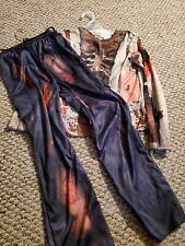 Boys Zombie Costume Size 8/10 Halloween Dress Up Polyester