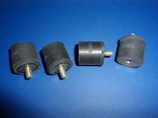 neu 5 Stück Schwingungsdämpfer 15x10 mm//Gewinde M4x12