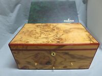 Audemars Piguet Genuine Large Wood Watch Box Cabinet With Drawers