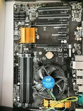 I5 4460 Quad Core 3.2G with Cooling fan and Gigabyte Z97X LGA1150 ATX