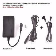 okin limoss  Lift Chair Electric Recliner Power Supply 29V2A Transformer layzboy