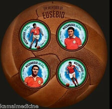 Mozambique MNH Odd Unusual Round SS, Sports Football (K89)