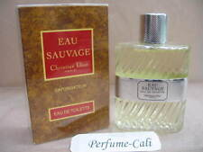 EAU SAUVAGE CHRISTAIN DIOR 3.4 oz / 100 ML EDT Spray Sealed ( OLD PACKAGE )