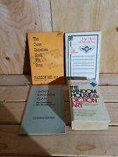 Lot Of 4 Books Curse, Medicine, Gaard, Dictionary