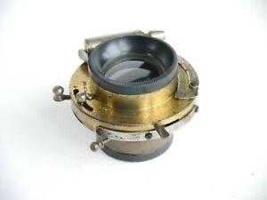 Baush & Lomb Rapid Rectilinear 6 Inch F4 - 128 Lens in Shutter