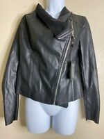 Blanknyc Women Size S Black Moto Jacket Side Zip Nwt 451j9020no