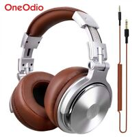 Original Headphone Oneodio Professional Studio DJ Headphones Microphone HIFI