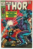 The Mighty Thor #170 - 1st App. of Thermal Man Marvel Comics VF