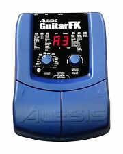 ALESIS GUITAR FX MULTI-EFFECTS PROCESSOR FOR ELECTRIC GUITAR