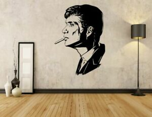 Thomas shelby vinyl wall sticker from small to large