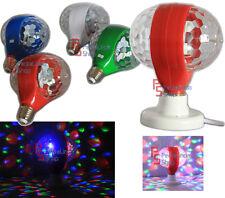 PDR*LAMPADINA LED RGB MULTICOLOR ATTACCO E27 LED RGB ROTANTE 3WATT YF-1000