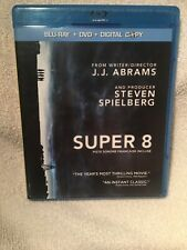 Super 8 (Blu-ray/DVD, 2011, Canadian)