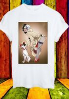 Cruella De Ville 101 Dalmatians Disney Villains Men Women Unisex T-shirt 777