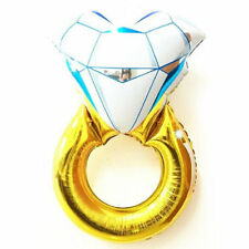 "NEW XL 37""  Diamond Ring Foil Helium Balloon Wedding Engagement Hen Party Decora"