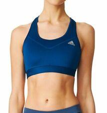 Womens Adidas Techfit Sports Bra Tech Steel Size M