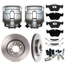 BMW 330 E46 FRONT BRAKE CALIPERS BRAKE PADS, DISCS AND GUIDE PINS BBK0044A