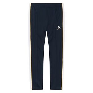 Converse Track Pants Men's New Obsidian White Trousers 10007692-467