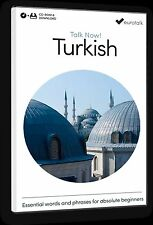 Eurotalk Talk Now Turkish for Beginners - Download option and CD ROM