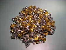 Mannesmann Eyelets Set <> 200 pcs <> 5mm <> Self Backing / Gold / Silver