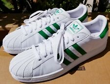 Adidas Superstar Shell Toe Basketball Tennis Men'S Size 18 Big Boy Shoes Clean
