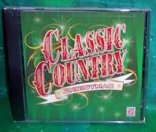 BRAND NEW RARE OOP TIME LIFE CLASSIC COUNTRY CHRISTMAS MUSIC CD 20 TRACKS 2003