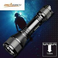 ORCATORCH D550 Upgraded Version Dive Light 1000 Lumens Scuba Flashlight