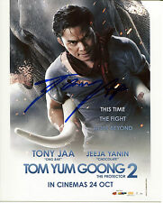 TONY JAA In-Person Signed 8x10 Photo Tom Yum Goong 2 The Protector Ong-Bak w/COA