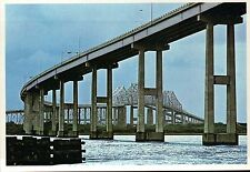 Cooper River Bridges, Charleston, South Carolina, Highway - Continental Postcard