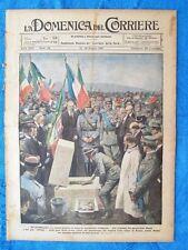 La Domenica del Corriere 19 giugno 1921 Petain - Badoglio - Bucarest