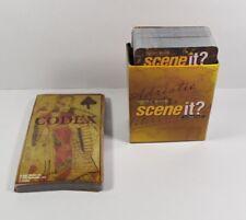 Scene It? Pirates Caribbean 2007 - Trivia & Codex Cards    #ST53