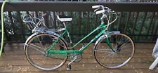"Vintage Huffy Sportsman Ladies Bicycle 3 Speed 26"" (England) with booster seat"